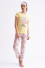 Pijama Cat Galben