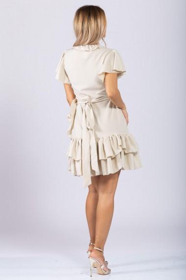Rochie Dama Ranya Ivoire Short