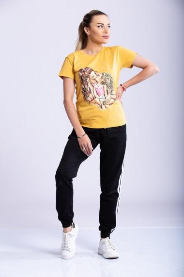 Tricou Dama Asha Galben