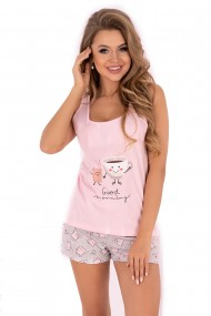 Pijama Small Sweet Cake, LivCo, roz