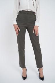Pantaloni din bumbac eleganti gri