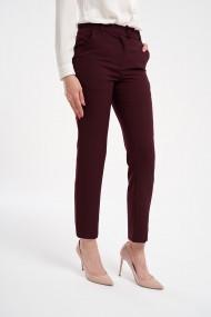 Pantaloni eleganti grena