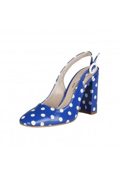Pantofi cu toc Made in Italia MINA BLU albastru - els