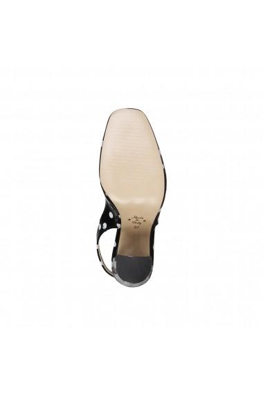 Pantofi cu toc Made in Italia MINA NERO negru