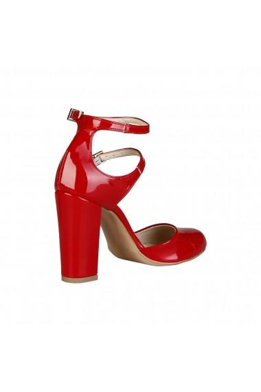 Pantofi cu toc Made in Italia ADA ROSSO rosu