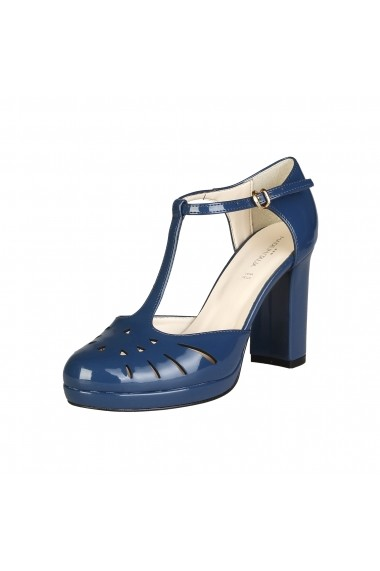 Pantofi cu toc Made in Italia SEFORA BLUNAVY bleumarin