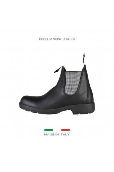 Ghete Made in Italia DIEGO_NERO-BIANCO
