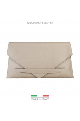 Clutch Made in Italia COSTANZA_TAUPE maro