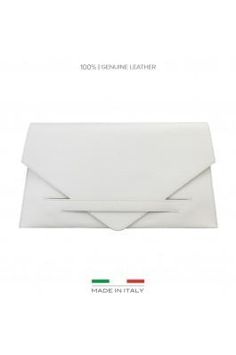 Clutch Made in Italia COSTANZA BEIGE alb