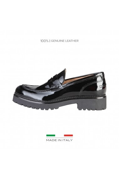 Mocasini Made in Italia TIZIANA NERO