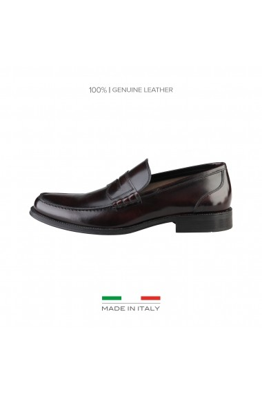 Mocasini Made in Italia TIZIANO_BORDO