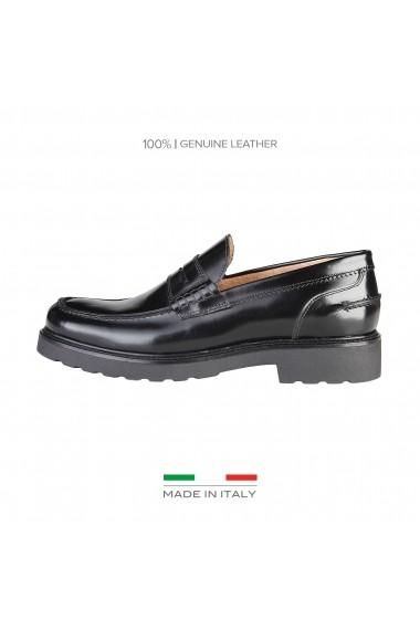 Mocasini Made in Italia STEFANO_NERO - els