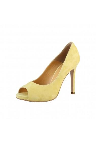 Pantofi cu toc Made in Italia ERMINIA GIALLO