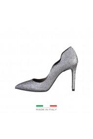 Pantofi cu toc Made in Italia FRANCESCA GRIGIO Argintiu