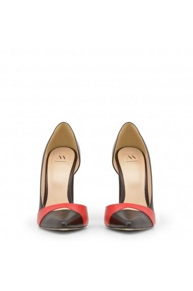 Pantofi cu toc Made in Italia MINUETTO_NERO-TOMATO Negru - els