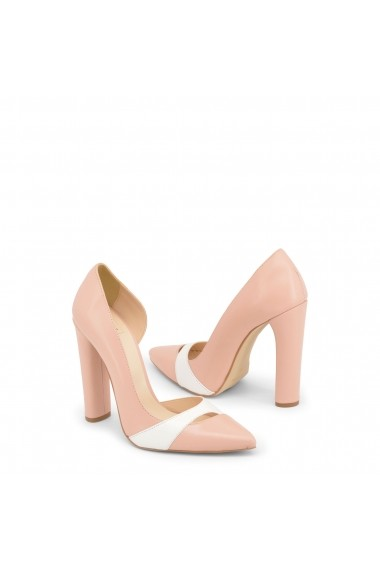 Pantofi cu toc Made in Italia MINUETTO_ROSA-BIANCO