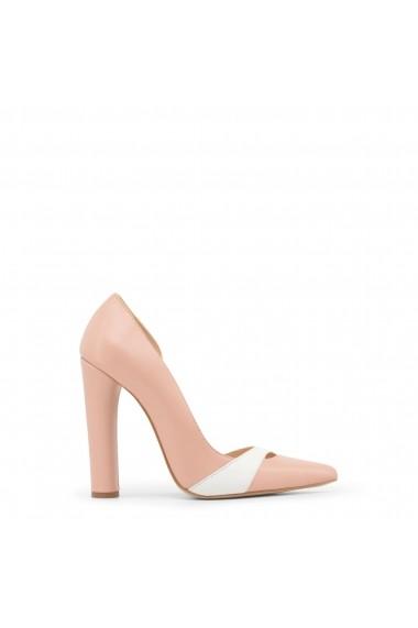 Pantofi cu toc Made in Italia MINUETTO_ROSA-BIANCO - els