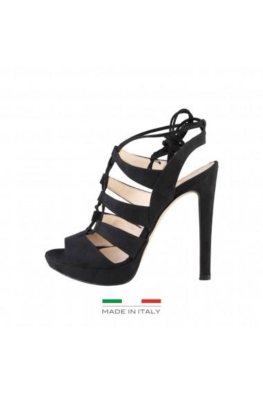 Sandale cu toc Made in Italia FLAMINIA NERO