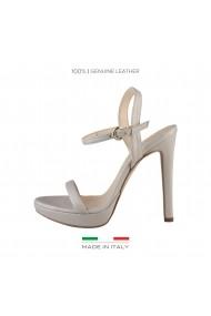 Sandale cu toc Made in Italia MARCELLA CONCHIGLIA Gri