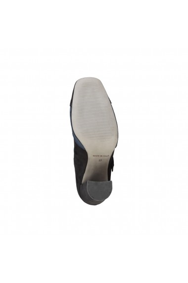 Pantofi cu toc Made in Italia GIORGIA NERO-BLU bleumarin