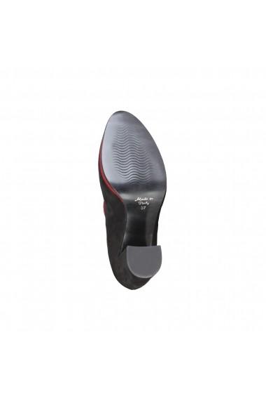 Pantofi cu toc Made in Italia FILOMENA NERO negru