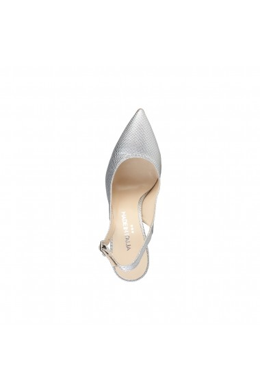 Pantofi cu toc Made in Italia ADRIA ARGENTO alb
