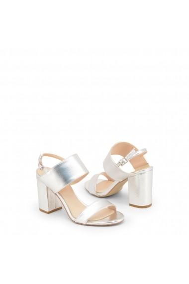 Sandale cu toc Made in Italia FAVOLA-NAPPA_ARGENTO Argintiu