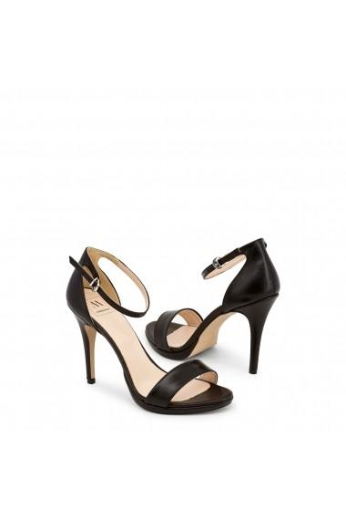 Sandale cu toc Made in Italia LA-GELOSIA NERO Negru - els
