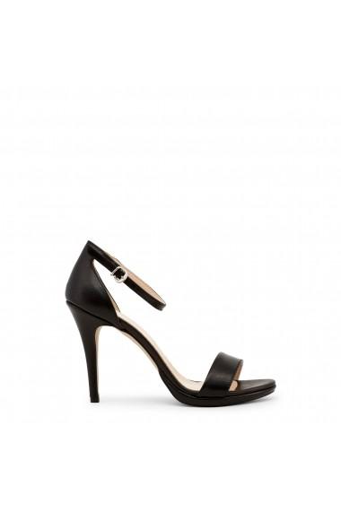 100% calitate superioară textură bună cel mai bun ieftin Sandale cu toc Made in Italia LA-GELOSIA_NERO Negru - FashionUP!