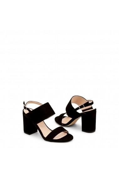 Sandale cu toc Made in Italia FAVOLA NERO negru