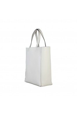 Geanta shopper Made in Italia AMANDA_PANNA alb