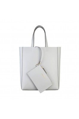 Geanta shopper Made in Italia FOSCA GHIACCIO alb