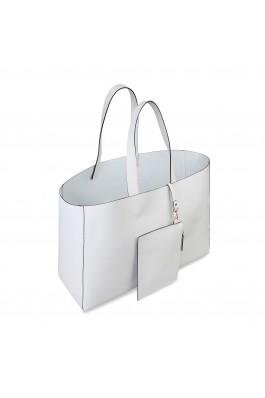 Geanta shopper Made in Italia ROMINA GHIACCIO alb