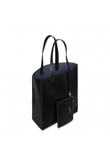 Geanta shopper Made in Italia FOSCA_NERO negru