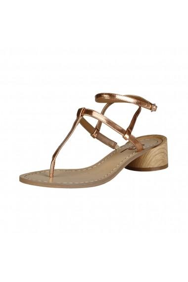 Sandale cu toc Ana Lublin VIOLETTA ROSE
