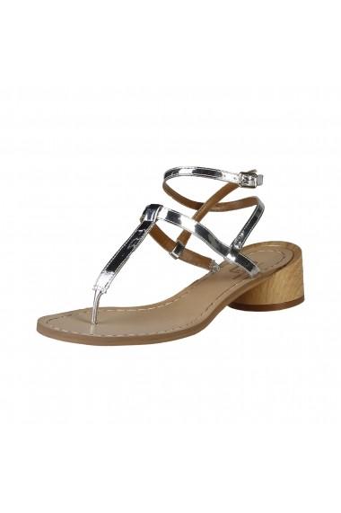 Sandale plate Ana Lublin VIOLETTA SILVER argintiu - els