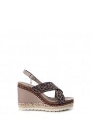 Sandale cu toc Xti 49127_TAUPE