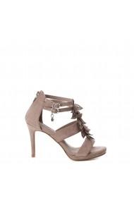 Sandale cu toc Xti 32077_TAUPE