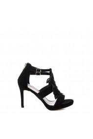 Sandale cu toc Xti 32077_BLACK