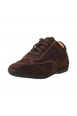 Pantofi sport Sparco IMOLA maro inchis, din piele