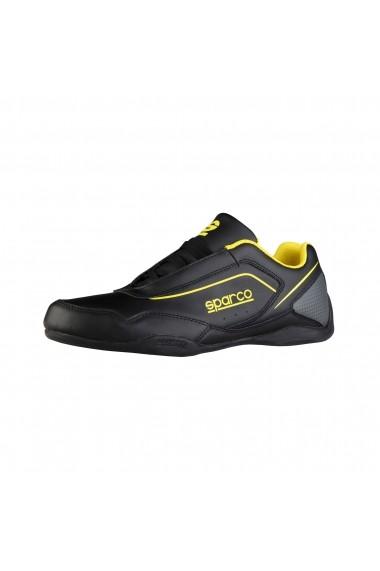 Pantofi sport Sparco JEREZ NERO-GIALLO negru