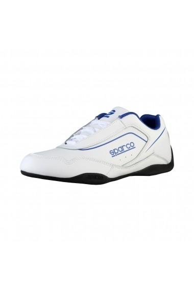 Pantofi sport Sparco JEREZ BIANCO-BLU alb