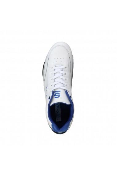 Pantofi sport Sparco ZANDVOORT BIANCO-ROYAL alb