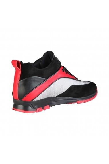 Pantofi sport Sparco MOUDON_NERO-ARGENTO