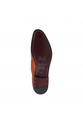 Pantofi Versace 1969 MATHIEU camel din piele naturala