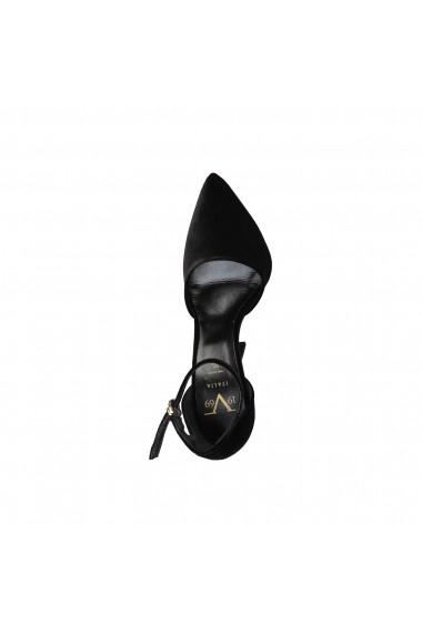 Pantofi cu toc Versace 1969 VIRGIE NERO Negru