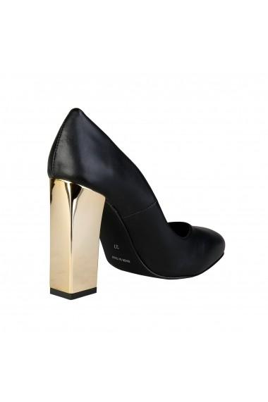 Pantofi cu toc Versace 1969 MIMI NERO Negru
