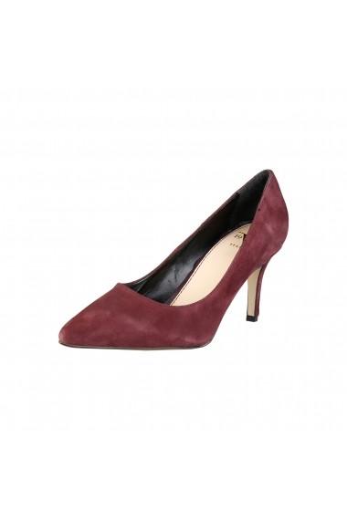 Pantofi cu toc Versace 1969 SIMONNE CAMO MERLOT caramiziu