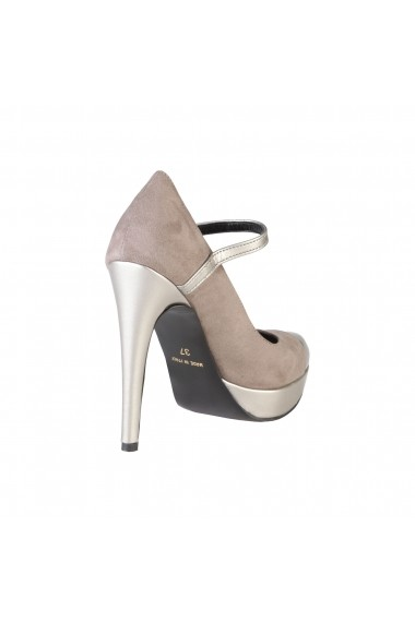 Pantofi cu toc Versace 1969 LAURALIE TAUPE