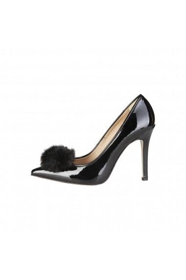 Pantofi cu toc Versace 1969 MAEVA NERO negru
